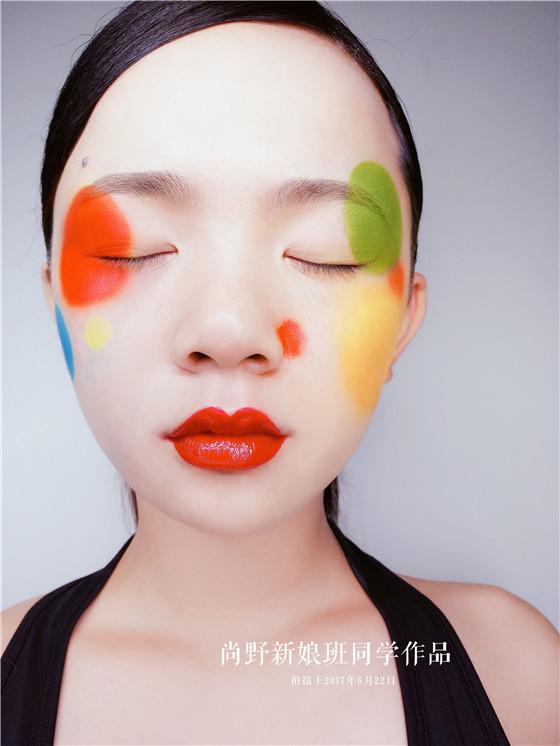 时尚创意彩妆:尚野彩妆课堂学员作品